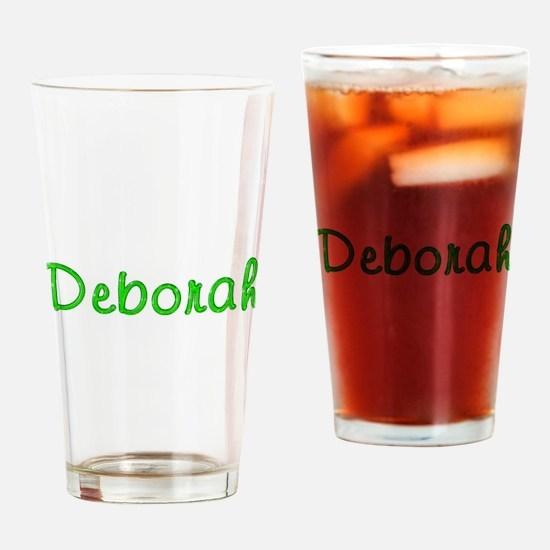 Deborah Glitter Gel Drinking Glass