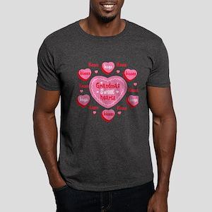 Grandma's Sweethearts Personalized Dark T-Shirt