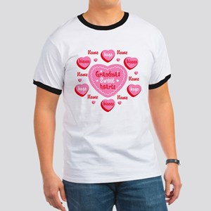 Grandma's Sweethearts Personalized Ringer T