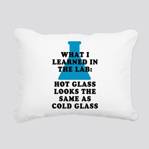 Lab Glass Rectangular Canvas Pillow