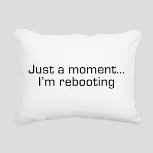 reboot Rectangular Canvas Pillow