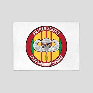 173rd Airborne Vietnam 5'x7'Area Rug