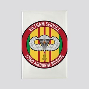 173rd Airborne Vietnam Rectangle Magnet