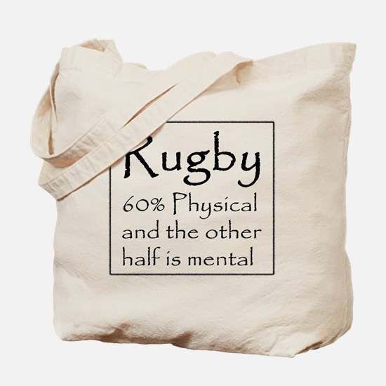 Rugby: 60% Physical Tote Bag