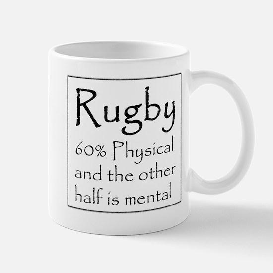 Rugby: 60% Physical Mug
