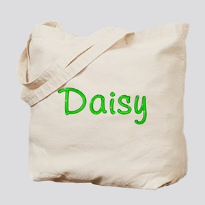 Daisy Glitter Gel Tote Bag