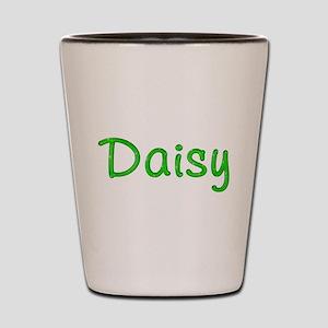 Daisy Glitter Gel Shot Glass