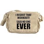 I hate Burpees Messenger Bag
