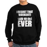 I hate Burpees Sweatshirt (dark)