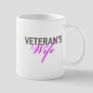 Air Force Vet's Wife Mug