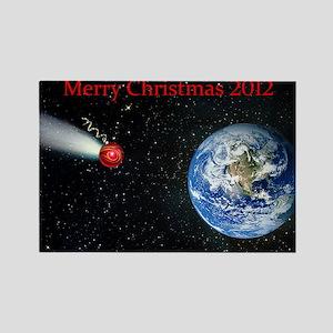 Christmas Apocalypse 2012 Rectangle Magnet