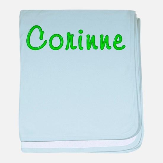 Corinne Glitter Gel baby blanket