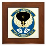Angels Emblem Framed Tile