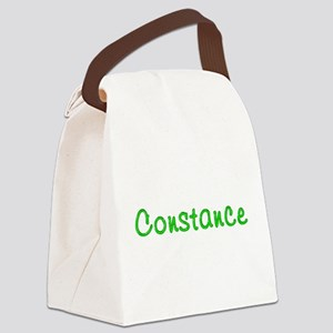 Constance Glitter Gel Canvas Lunch Bag