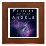 Flight of the Angels cover Framed Tile