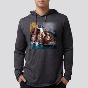 Life of Jesus Mens Hooded Shirt