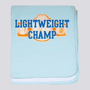 Lightweight Champ! baby blanket