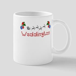 Weddington, Christmas Mug