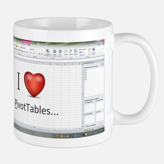 officegeek_pivottables2010 Mugs