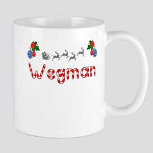 Wegman, Christmas Mug
