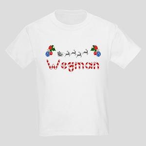 Wegman, Christmas Kids Light T-Shirt