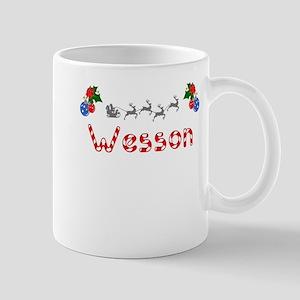 Wesson, Christmas Mug