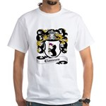 Claussen Coat of Arms White T-Shirt
