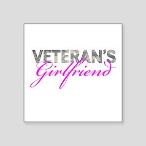 "ACU Army Vet GF Square Sticker 3"" x 3"""