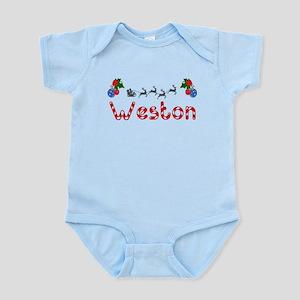 Weston, Christmas Infant Bodysuit