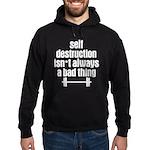 Self Destruction Hoodie (dark)