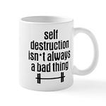 Self Destruction Mug