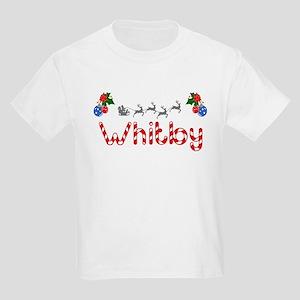 Whitby, Christmas Kids Light T-Shirt