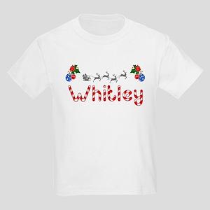 Whitley, Christmas Kids Light T-Shirt