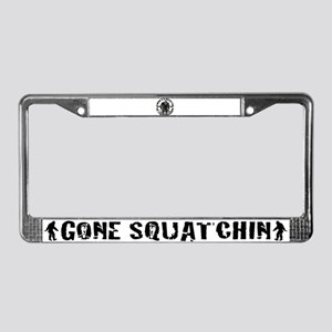 Believe in Bigfoot License Plate Frame