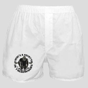 Believe in Bigfoot Boxer Shorts