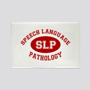SLP Athletic Rectangle Magnet