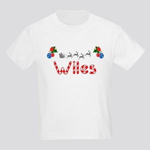 Wiles, Christmas Kids Light T-Shirt