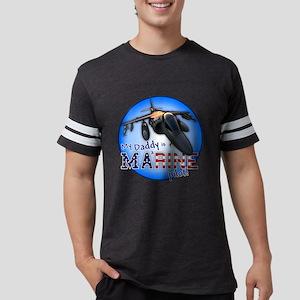 MarinePilot-circle-black Mens Football Shirt