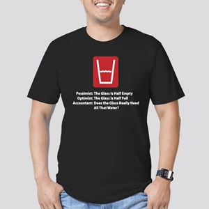 Accountant Half Glass T-Shirt