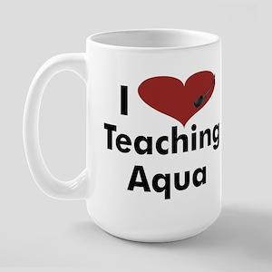 Water Aerobics Large Mug