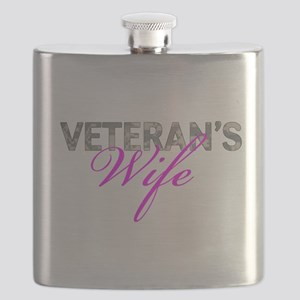 ACU Army Vet Wife Flask