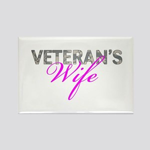 ACU Army Vet Wife Rectangle Magnet