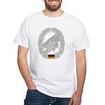 West German Paratrooper White T-Shirt