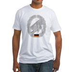 West German Paratrooper Fitted T-Shirt