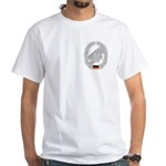 West German Paratrooper White T-Shirt