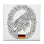 West German Paratrooper Tile Coaster