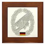 West German Paratrooper Framed Tile