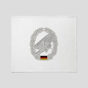 West German Paratrooper Throw Blanket
