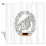 West German Paratrooper Shower Curtain