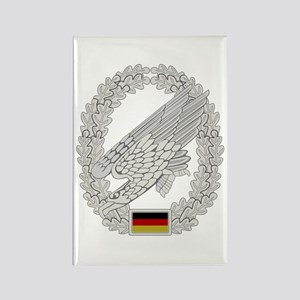West German Paratrooper Rectangle Magnet